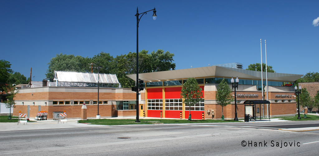 Chicago Fire Department Engine 121's house