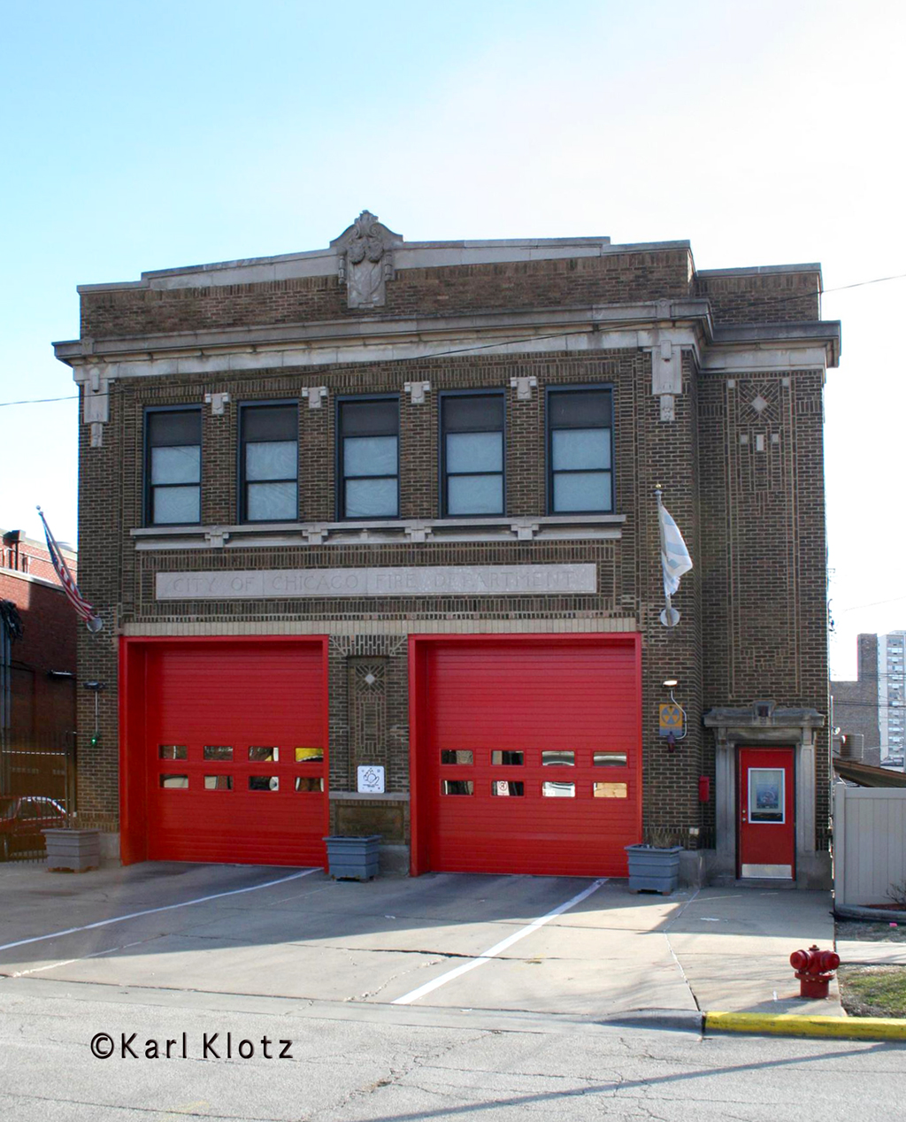 Chicago Fire Department Engine 126's house