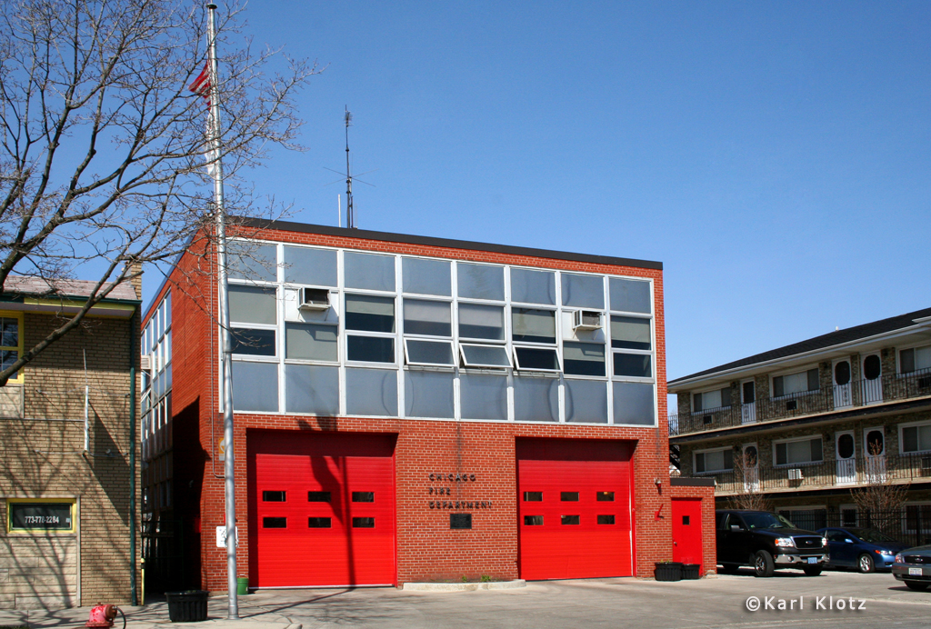 Chicago Fire Department Engine 15's house