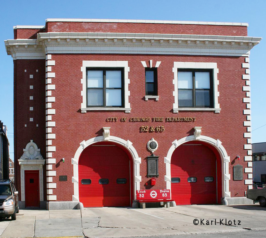 Chicago Fire Department Engine 65's house