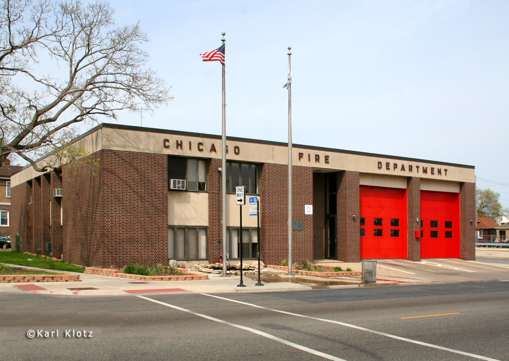Chicago Fire Department Engine 68's house