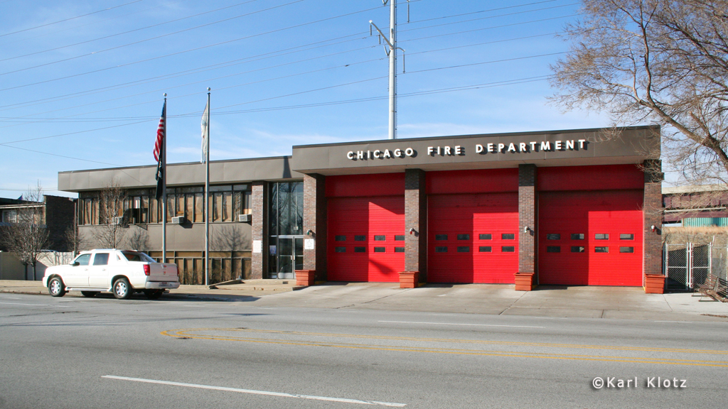 Chicago Fire Department Engine 72's house