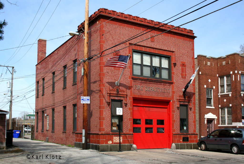 Chicago Fire Department Engine 73's house