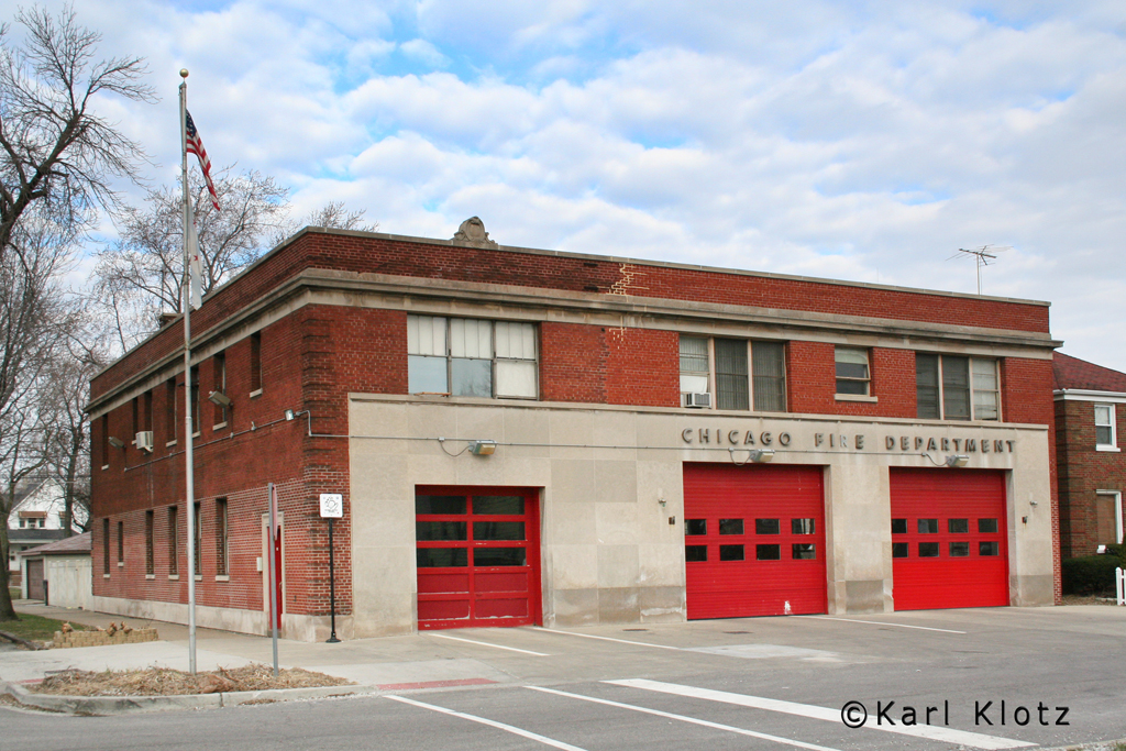 Chicago Fire Department Engine 81's house