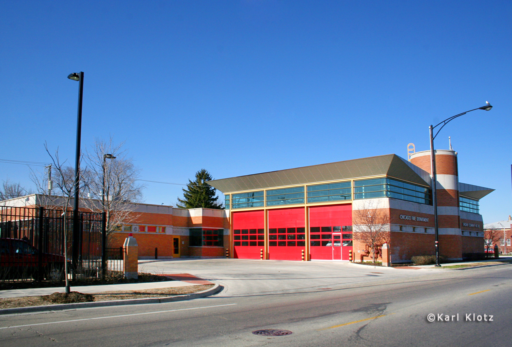 Chicago Fire Department Engine 88's house
