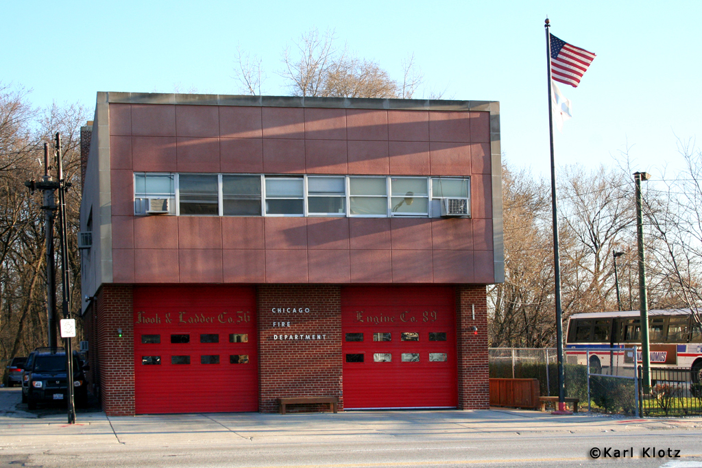Chicago Fire Department Engine 89's house