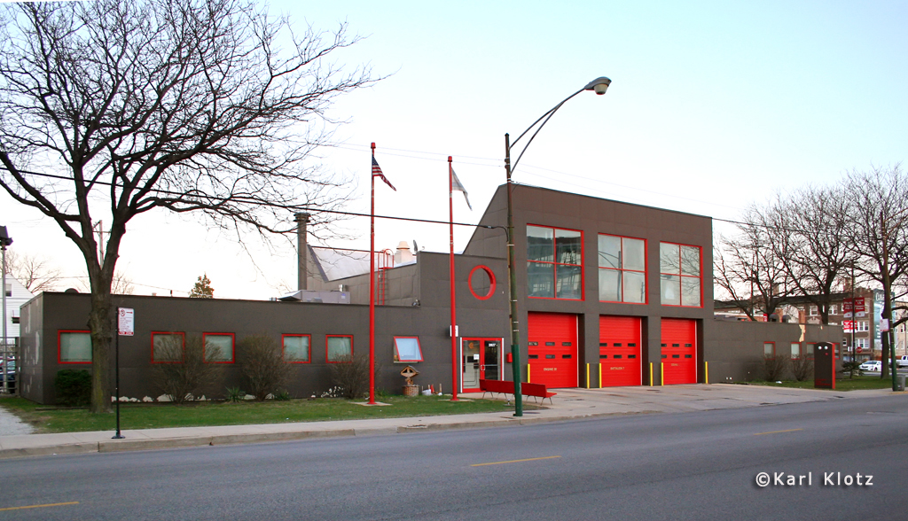 Chicago Fire Department Engine 91's house
