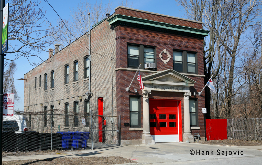 Chicago Fire Department Engine 115's house
