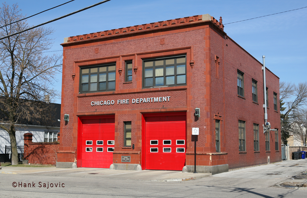 Chicago Fire Department Engine 62's house