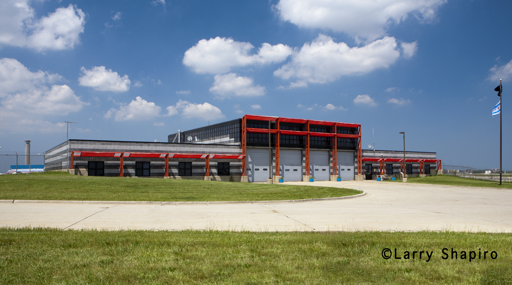 Chicago Fire Department Rescue Station 2 at O'Hare Airport