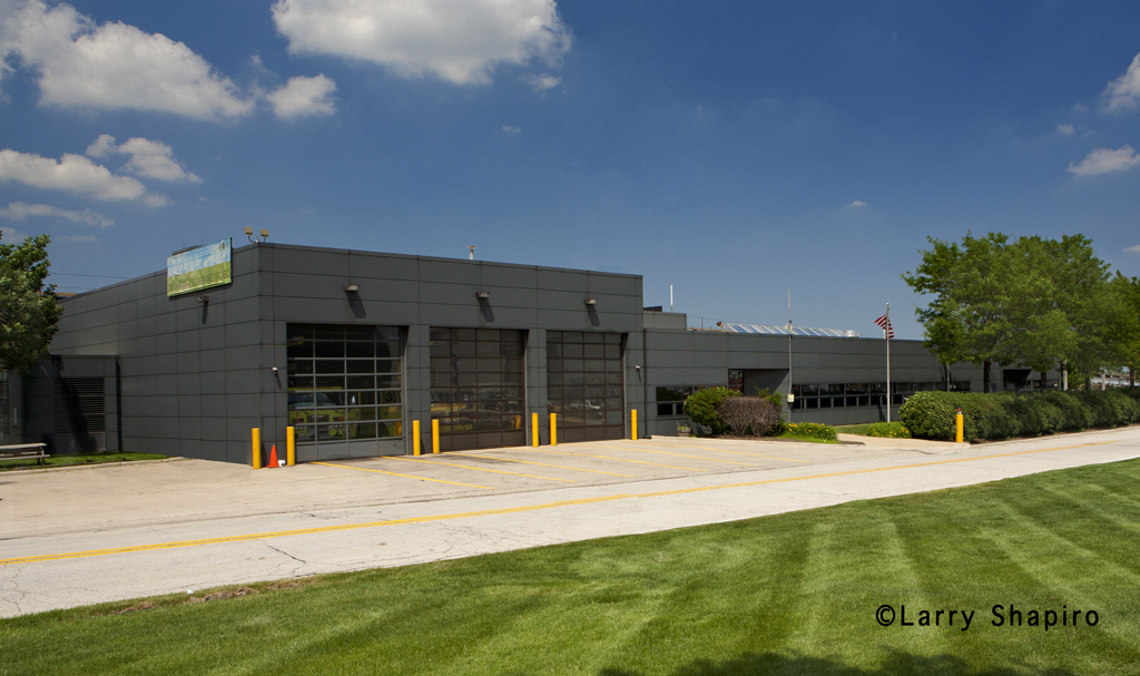 Chicago Fire Department Rescue Station 3 at O'Hare Airport