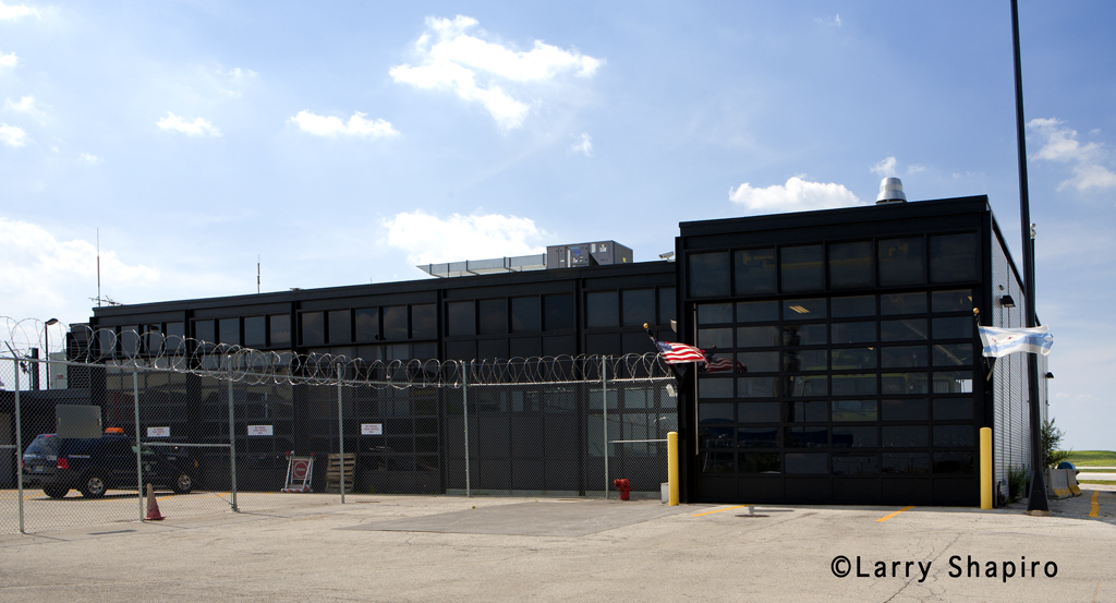 Chicago Fire Department Rescue Station 4 at O'Hare Airport