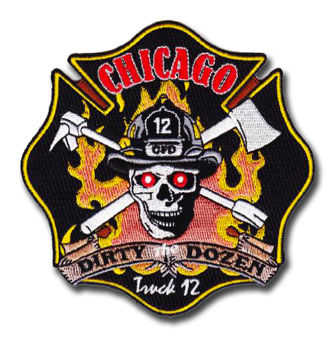 Chicago FD Truck 12's patch