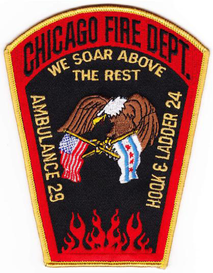 Chicago FD Truck 24's patch