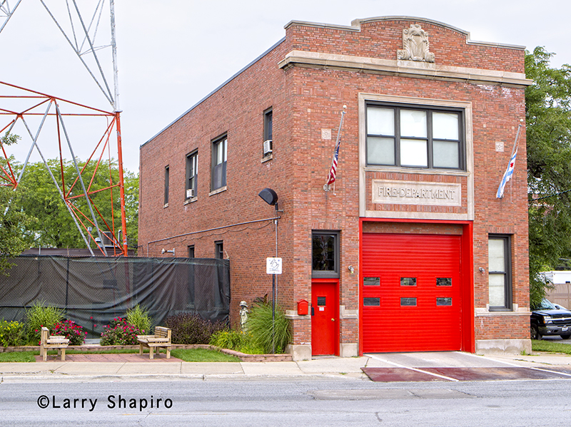 Chicago Fire Department Truck 24's house
