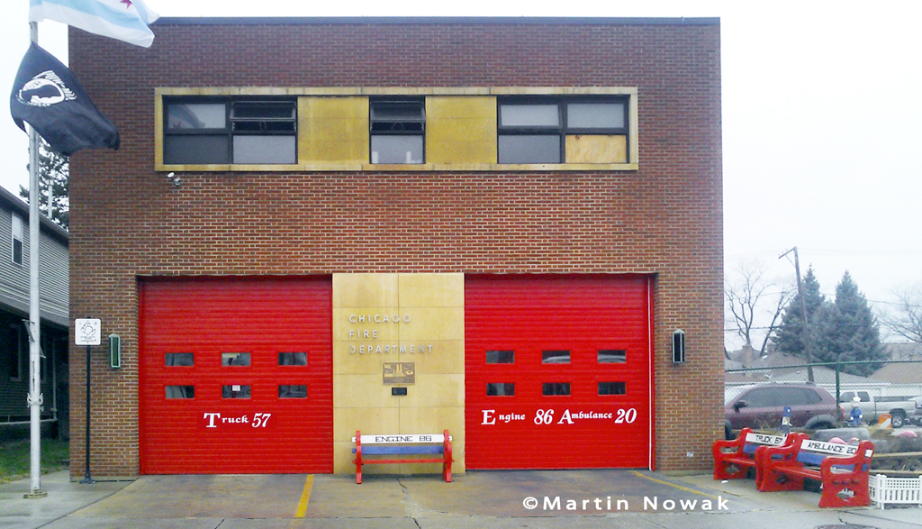 Chicago Fire Department Engine 86's house