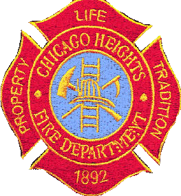 Chicago Heights FD patch
