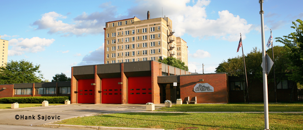 Chicago Fire Department Engine 95's house