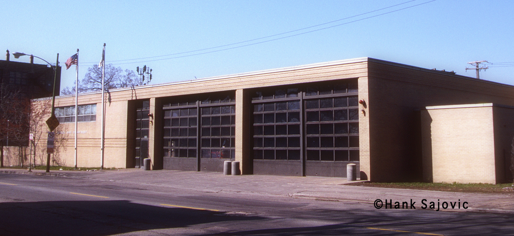 Chicago Fire Department Engine 44's house