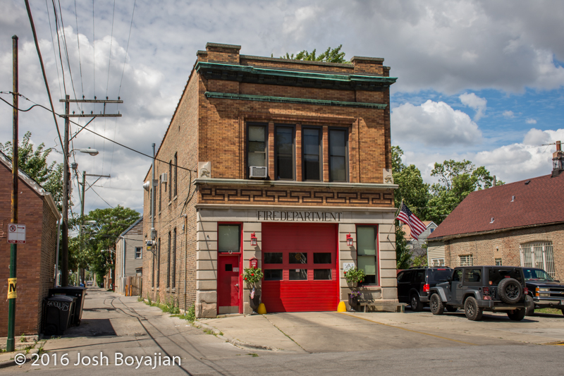 Chicago Fire Department Engine 99's house