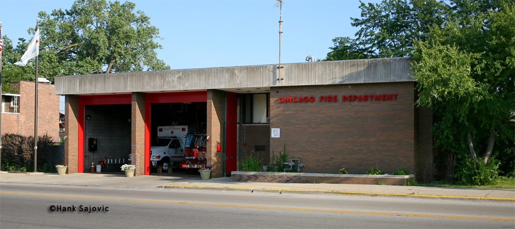 Chicago Fire Department Engine 122's house