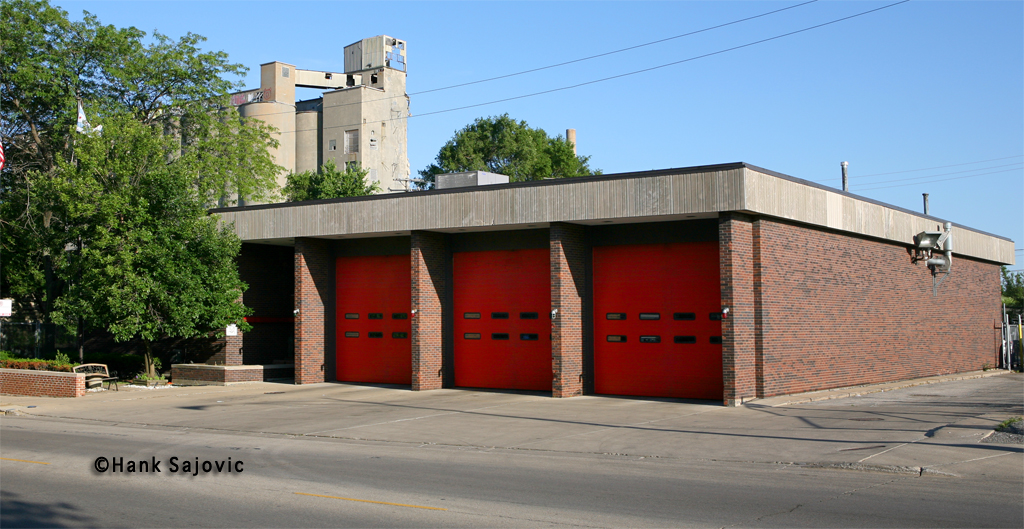 Chicago Fire Department Engine 123's house