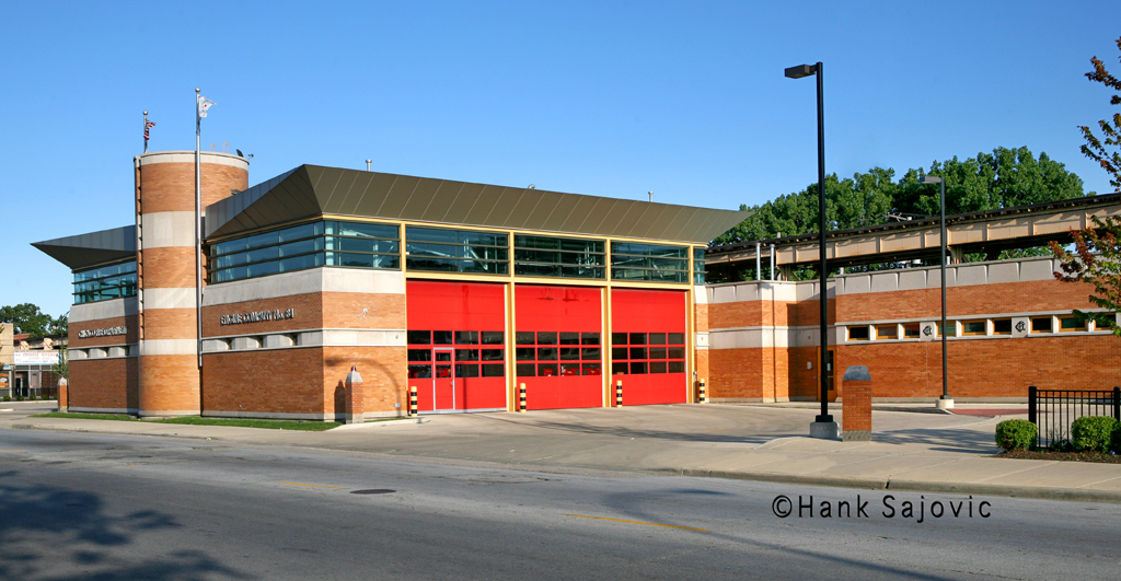 Chicago Fire Department Engine 84's house