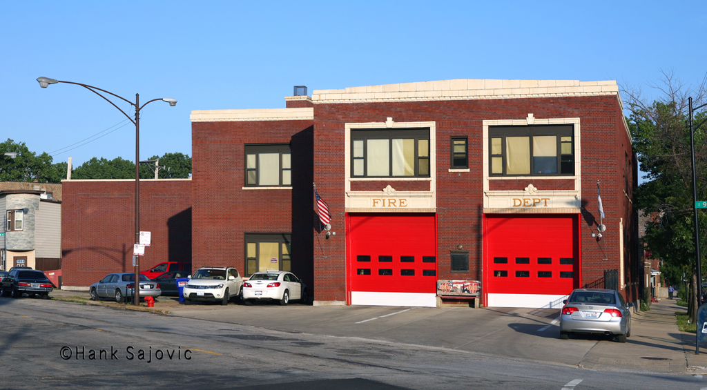 Chicago Fire Department Engine 46's house