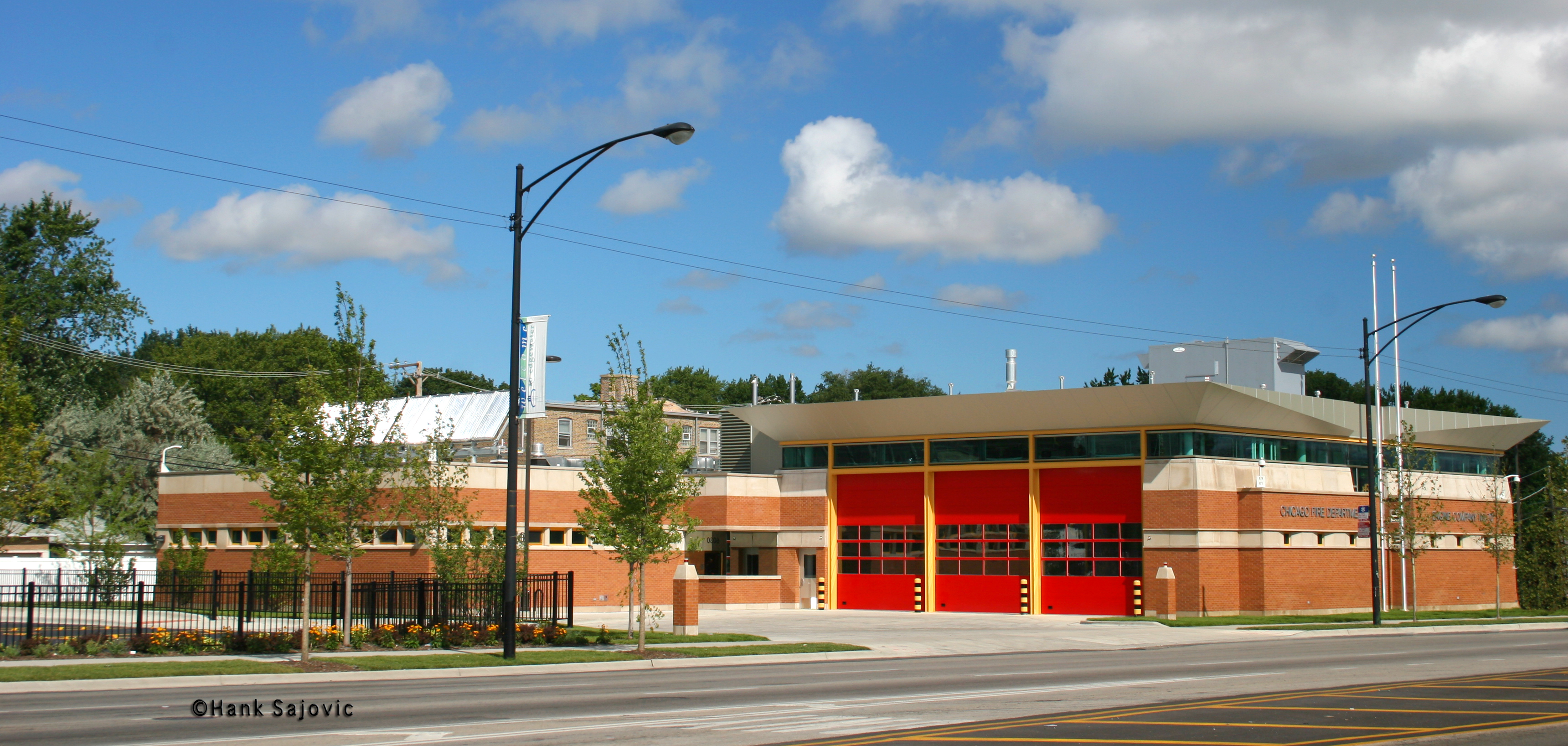 Chicago Fire Department Engine 59 & Engine 70's house