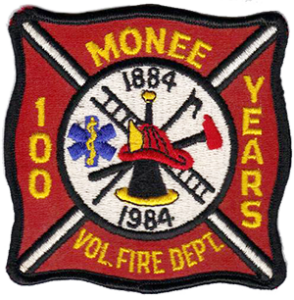 Monee Fire Department patch