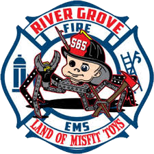 River Grove FD decal