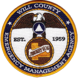 Will County EMA patch