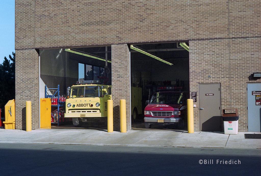 Abbott Laboratories Fire Station