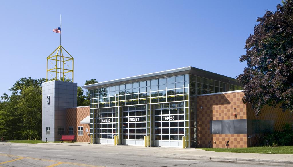 Evanston Fire Department Station 23