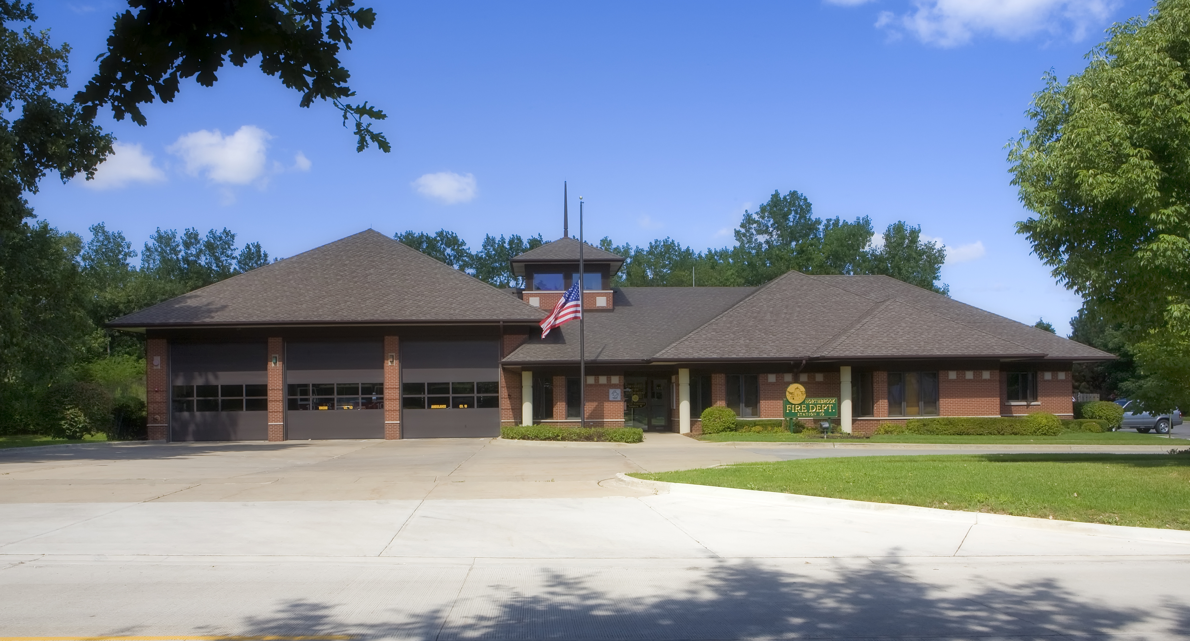 Northbrook Fire Department Station 10