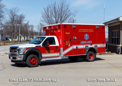 Great Lakes FD Ambulance 1942 - Ford Type I